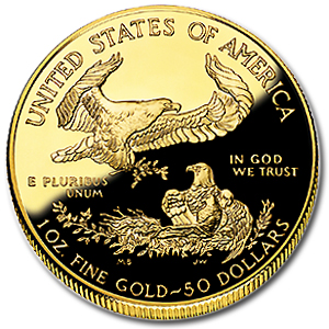 2002-W 1 oz Proof Gold American Eagle (w/Box & CoA)